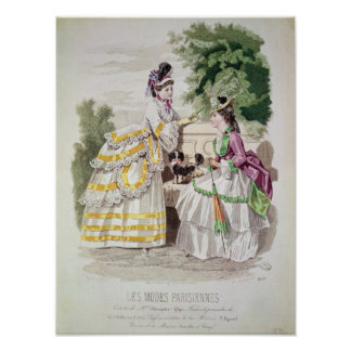 Female fashions poster