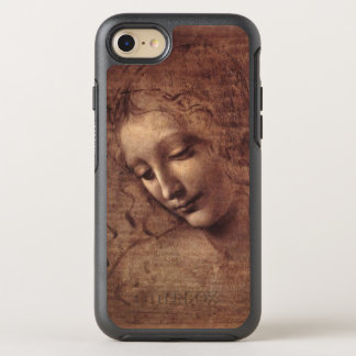 Female Head La Scapigliata by Leonardo da Vinci OtterBox Symmetry iPhone 8/7 Case