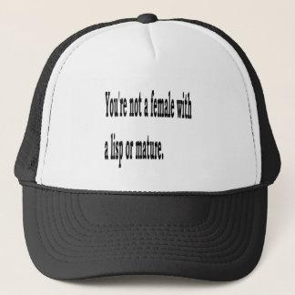 Female Lisp, 4 Trucker Hat