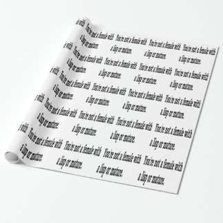 Female Lisp, 4 Wrapping Paper