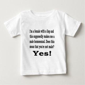 Female Lisp Baby T-Shirt
