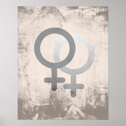 Female symbol posters female symbol prints for Z factory bagnolet