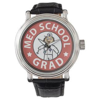 Female Medical School Graduation Watch
