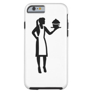 Female pastry chef tough iPhone 6 case