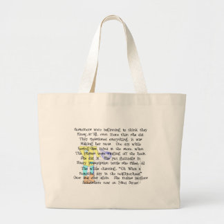 Female Pharmacist Story ARt Gifts--Hilarious Canvas Bags