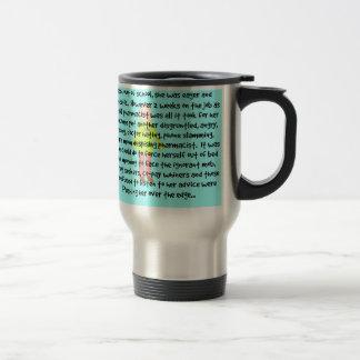 Female Pharmacist Travel Mug Story Art