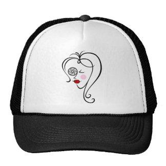 Female photographer cap