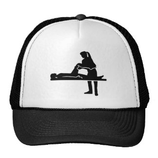 Female physiotherapist cap