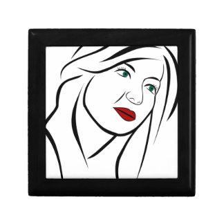 Female Portrait Gift Box
