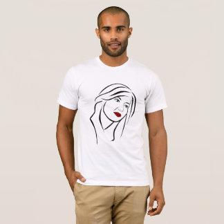 Female Portrait T-Shirt