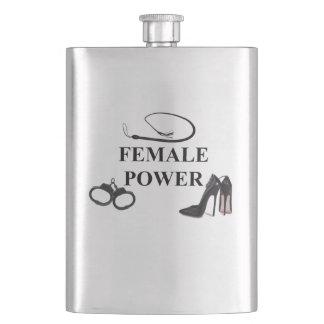 FEMALE POWER HIP FLASK