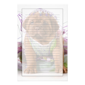 Female Puppy - Dogue De Bordeaux Puppy Customised Stationery