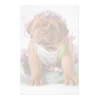 Female Puppy - Dogue De Bordeaux Puppy Personalised Stationery