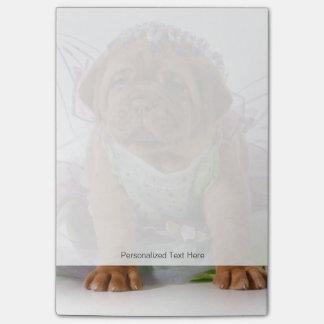 Female Puppy - Dogue De Bordeaux Puppy Post-it® Notes