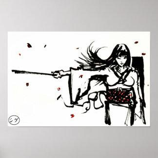 Female Samurai Poster
