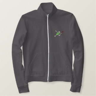 Female Senior Tennis Embroidered Jacket