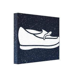 Female Shoes Pictogram Canvas Prints