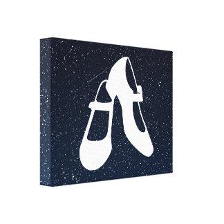 Female Shoes Sign Canvas Prints
