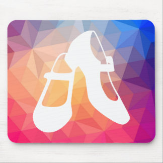 Female Shoes Sign Mouse Pad