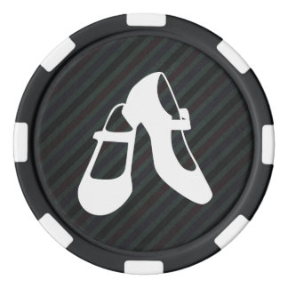 Female Shoes Sign Poker Chips