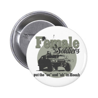 Female Soldiers Buttons