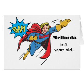 Female Superhero Flying Custom Photo Template