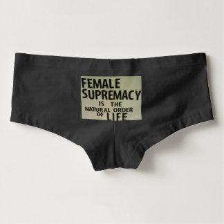 FEMALE SUPREMACY HOT SHORTS