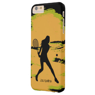 Female Tennis Player Barely There iPhone 6 Plus Case