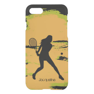 Female Tennis Player iPhone 7 Case