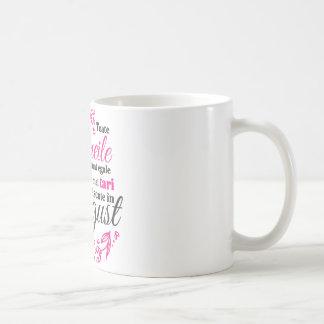 Femeile nascute in august coffee mug