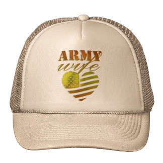 "Feminine cap ""ARMY Wife """
