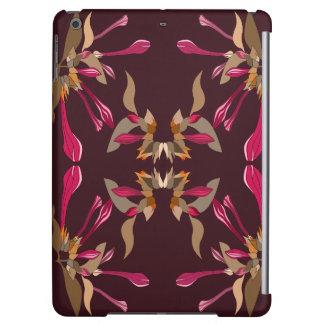Feminine Cyclamen and Burgundy Kaleidoscope Style