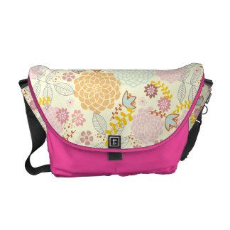 Feminine Fancy Modern Floral Messenger Bags