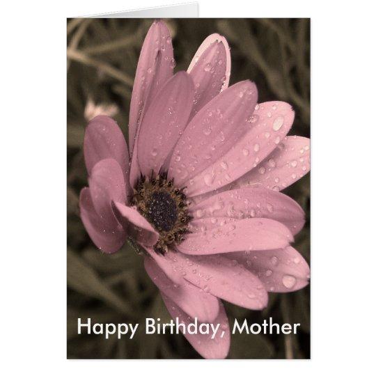 feminine, Happy Birthday, Mother Card