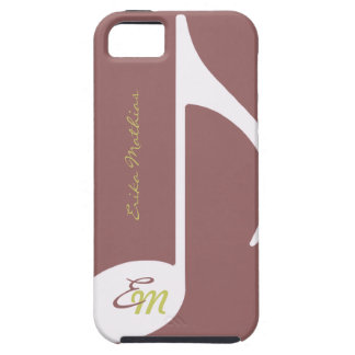 feminine musical note iPhone 5 cover