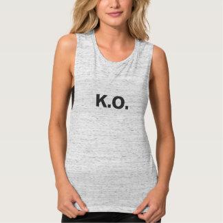 Feminine regatta K.O. Singlet