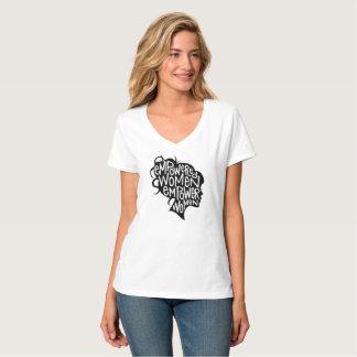 Feminine t-shirt Babylook Feminism