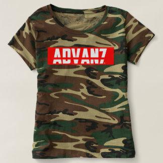"Feminine t-shirt Camouflaged ""Advanced"" (New)"