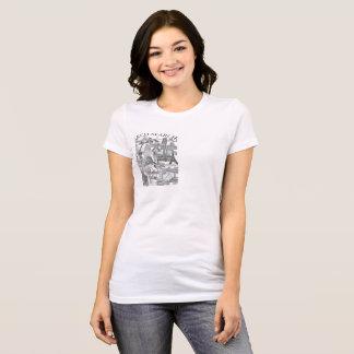 Feminine t-shirt Favorite Arch Mural Search