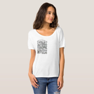 Feminine t-shirt Flowy Simple Arch Mural Search