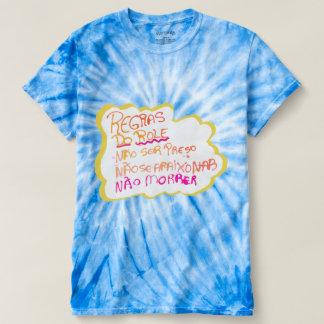 Feminine t-shirt Tie Dye Cyclone Rules of the Rolê