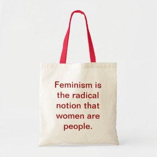 Feminism 101 bag