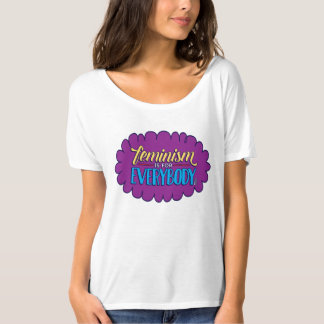 Feminism is for Everybody Flowing Shirt