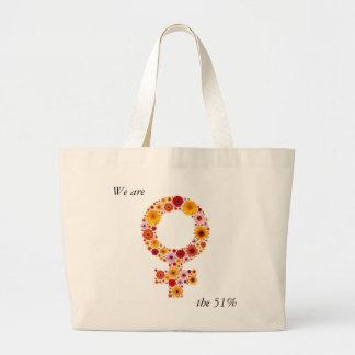 Feminism Large Tote Bag