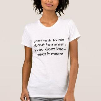 feminism tshirt