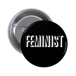 Feminist 6 Cm Round Badge
