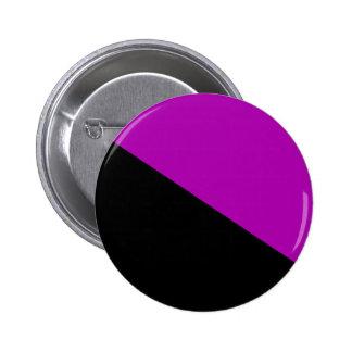 Feminist Anarchist flag button 2 Inch Round Button
