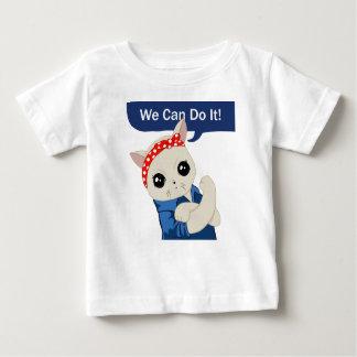 Feminist Cat Baby T-Shirt