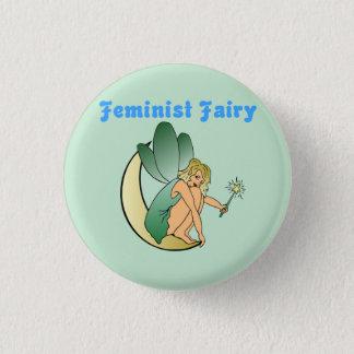 Feminist Fairy (Version 2) 3 Cm Round Badge