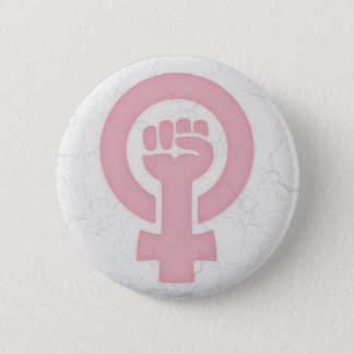 Feminist Fist 6 Cm Round Badge